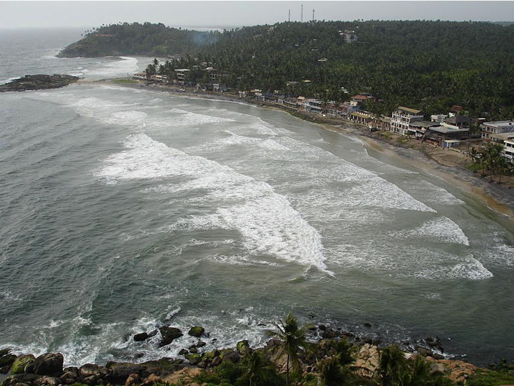 View from a Light House, Samudra Beach