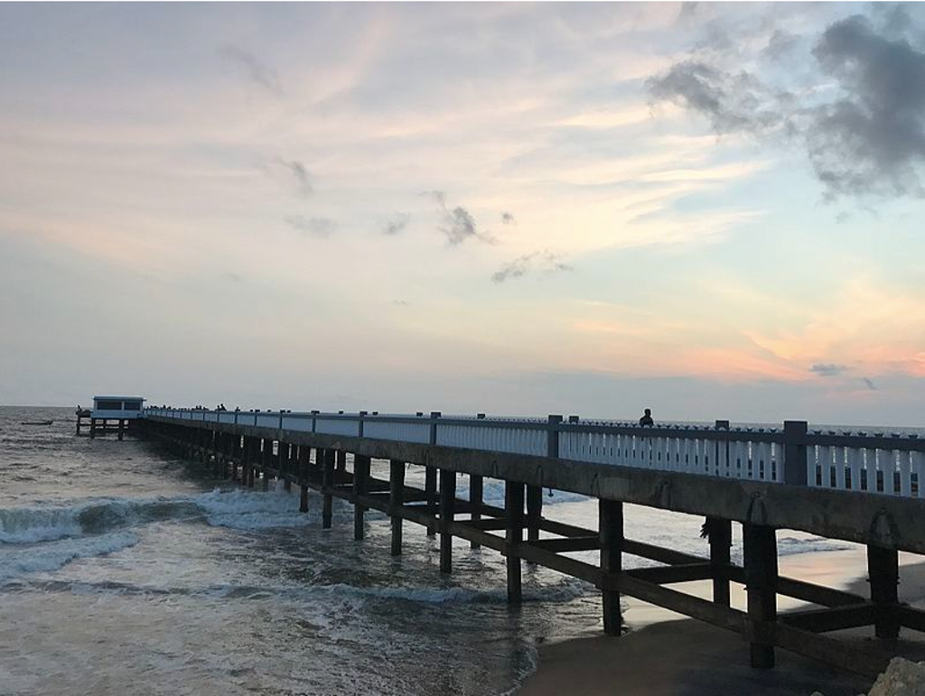 Valiyathura Pier is one of the places to visit in Kovalam
