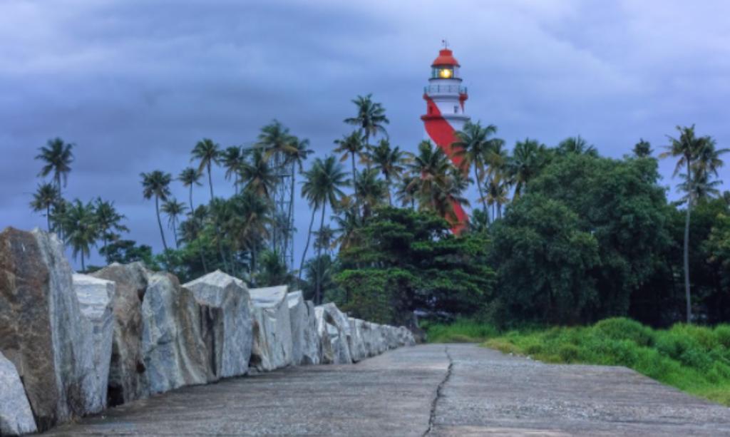 Thikkoti Light House in Kovalam