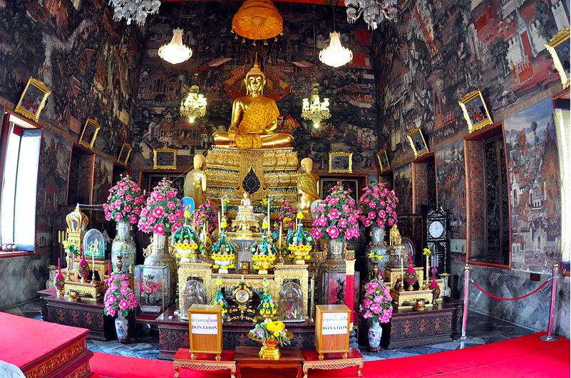 Inside Wat Arun