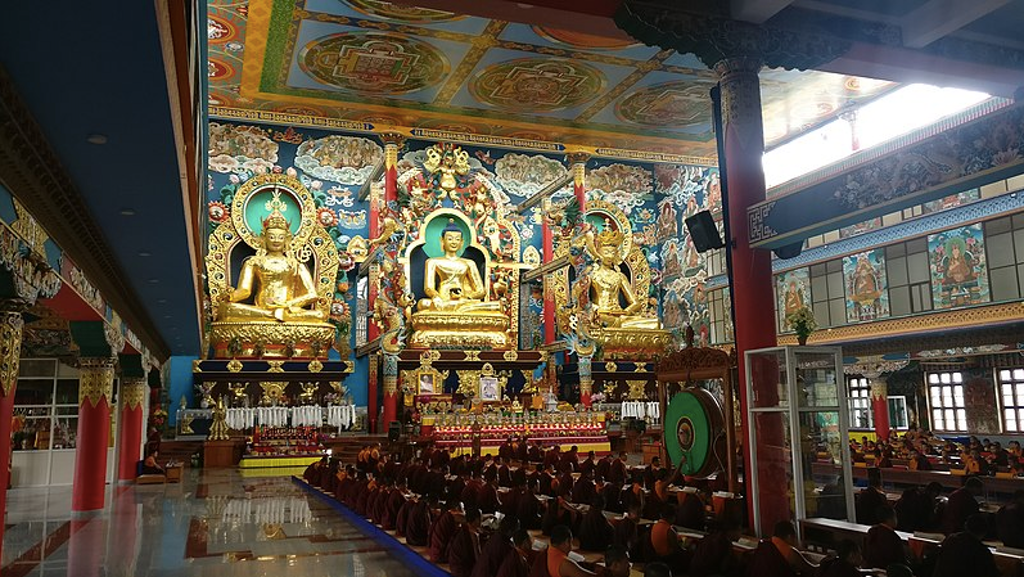 Golden Temple in Coorg
