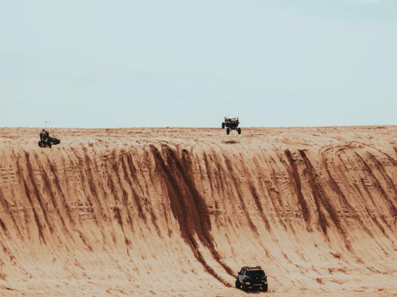 Desert on four wheels