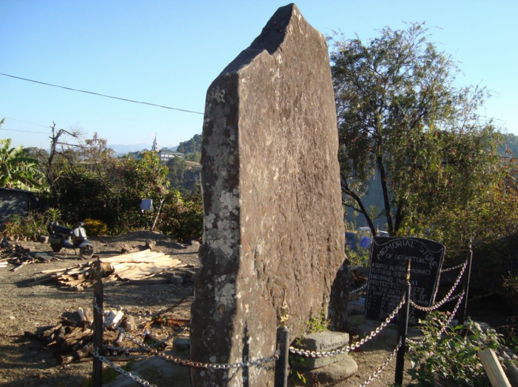 the traditional Naga