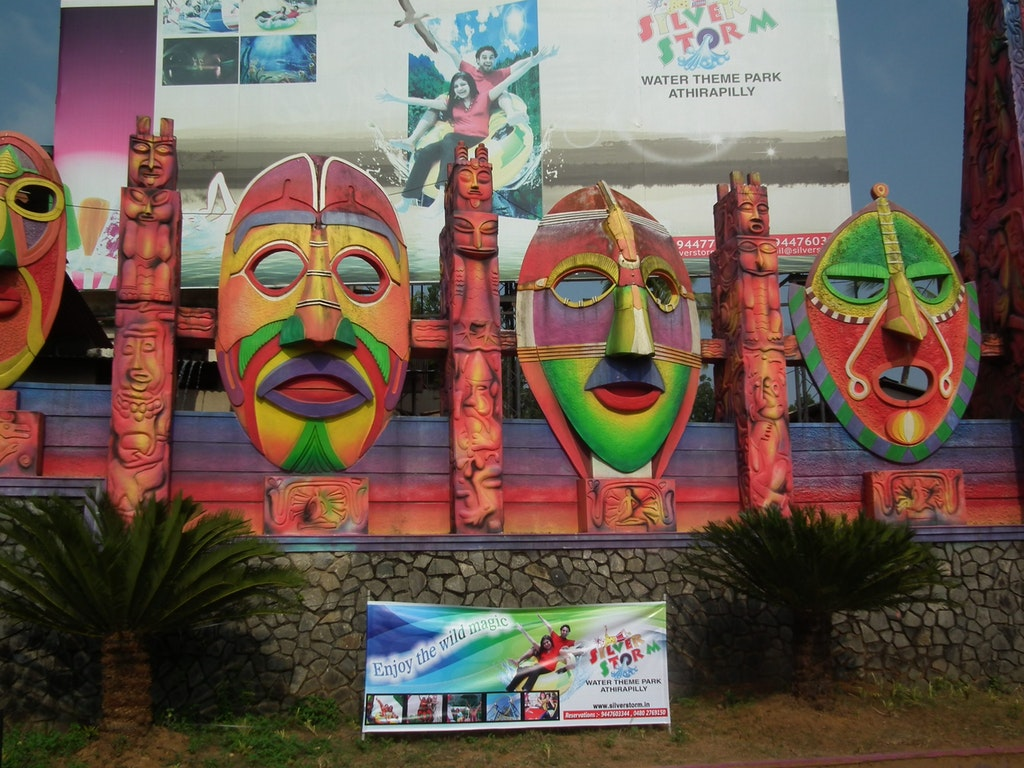 Silver Storm Water Theme Park in Kerala