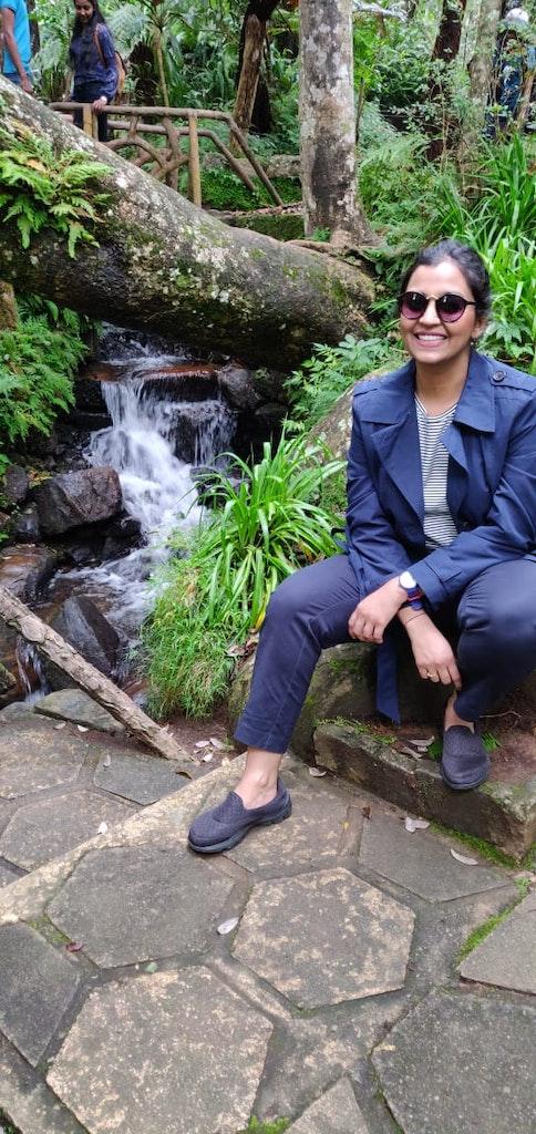 Near the brimming beauty of Srilanka