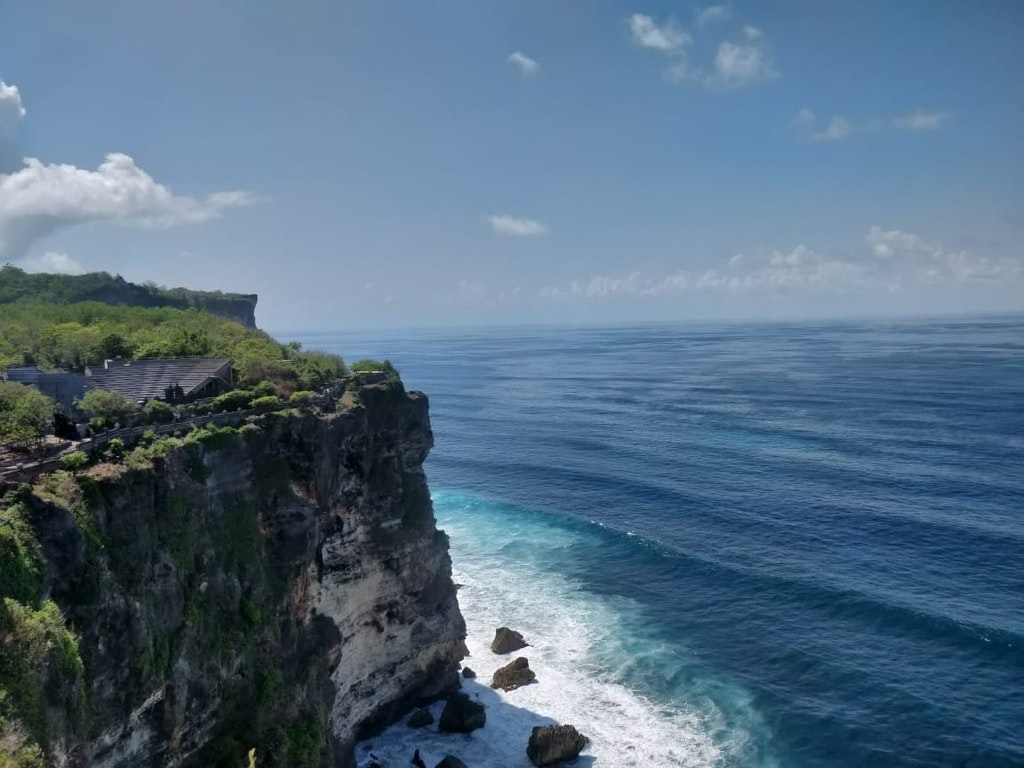 A picturesque location of beach at Bali