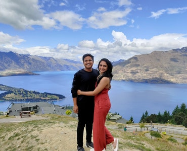 amidst the scenic beauty of New Zealand