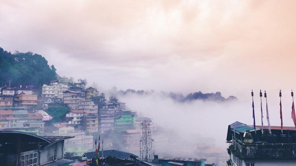 Gangtok, the capital city of Sikkim