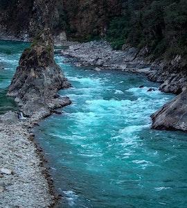 River in Arunachal Pradesh