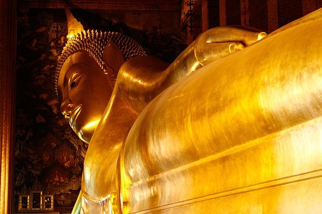 Reclining Buddha at Wat Pho temple