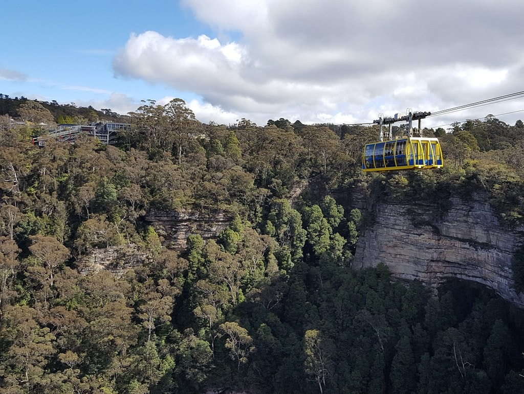 Cable Car ride in the Scenic World