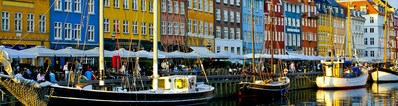 colourful buildings of Copenhagen