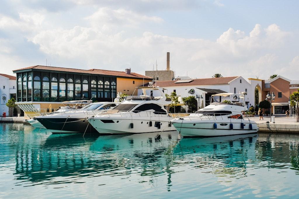 Molos city in Limassol