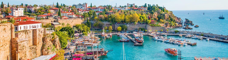 Beautiful scenery of Antalya