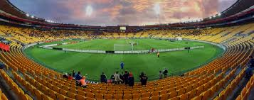 An amazing picture of the Westpac Stadium in Wellington