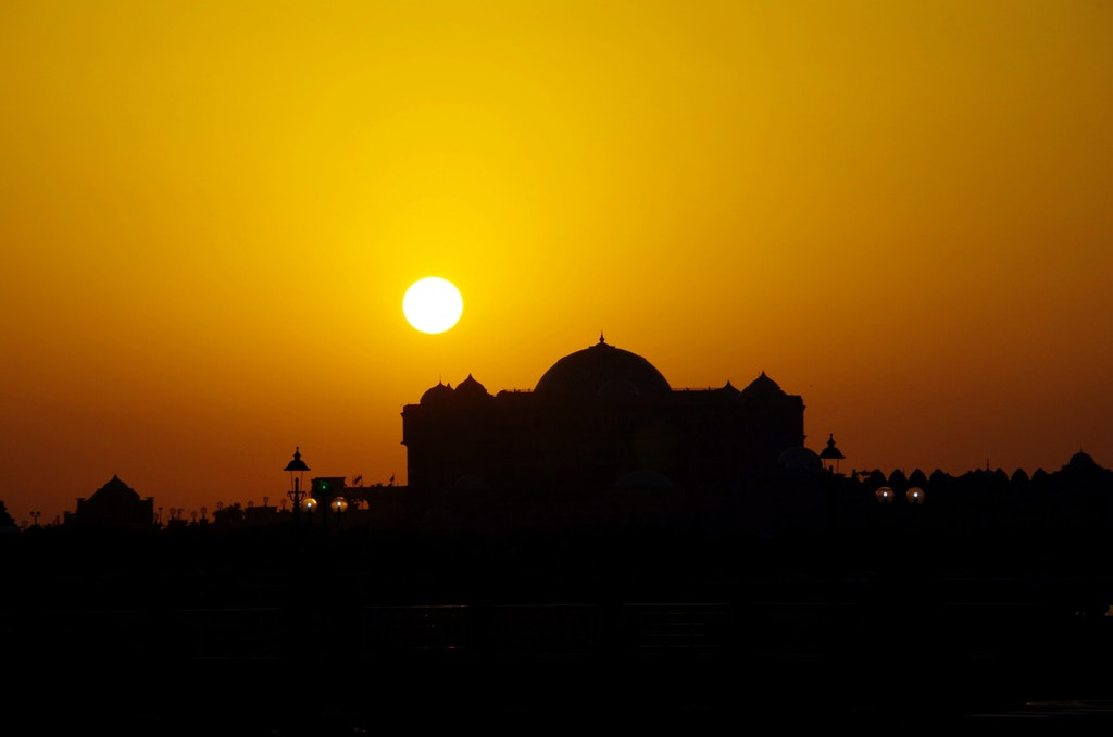 Sunrise in Abu Dhabi