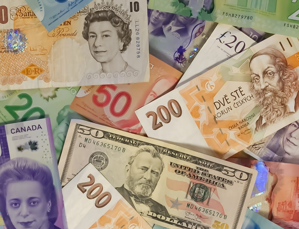 Various Foreign Currencies