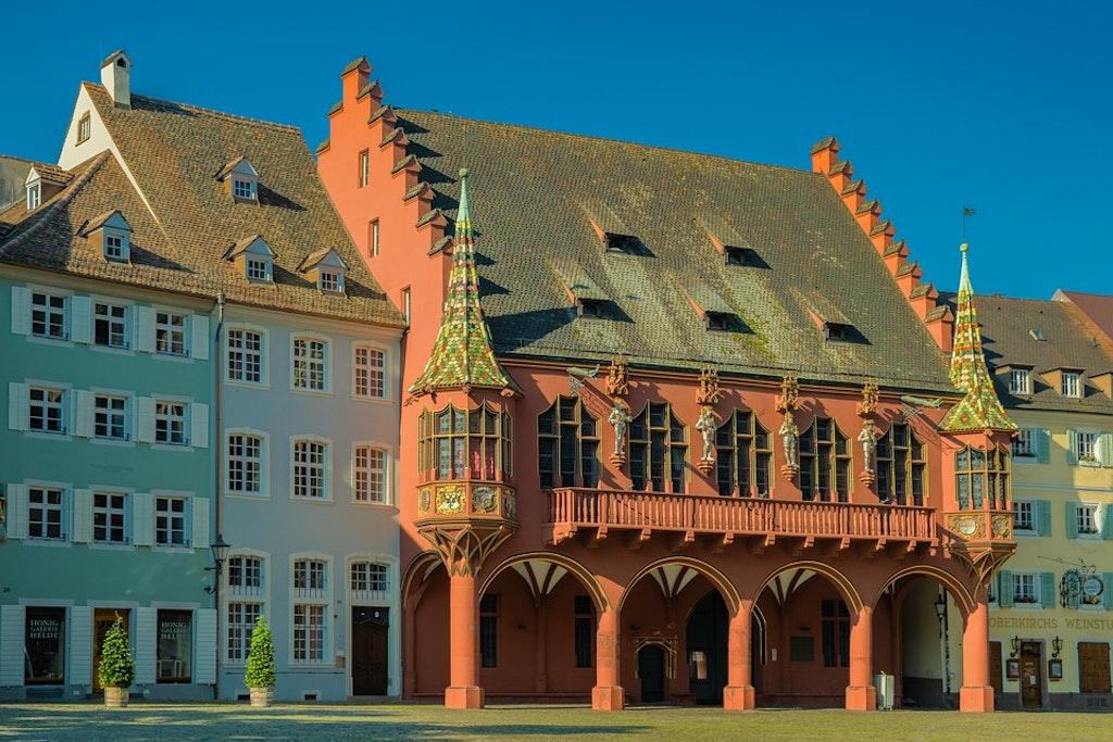Buildings of Frieburg