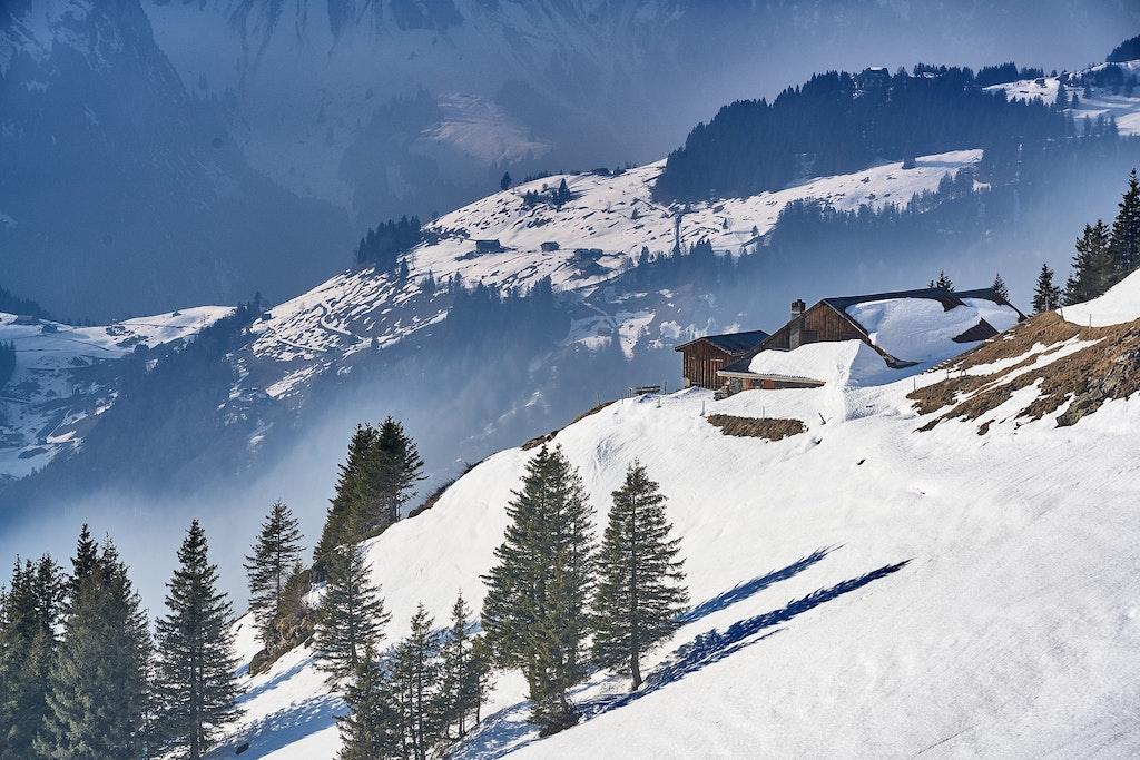 Mountain Alps in Engelberg