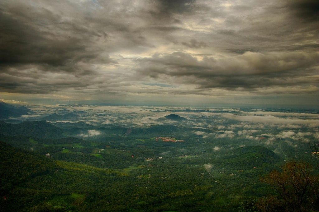 An amazing view of the sky in Wayanad