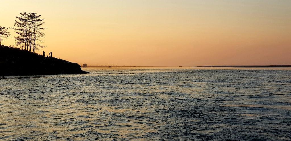 Majuli Island, The scenic beauty of Assam.