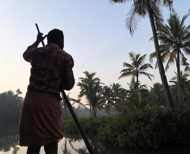 Backwaters in Kerala