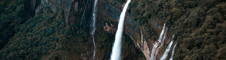 Waterfall in Meghalaya