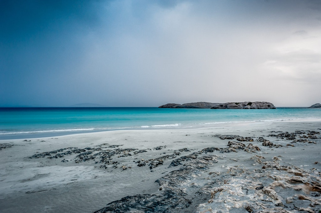 An amazing view of Twilight beach in Australia