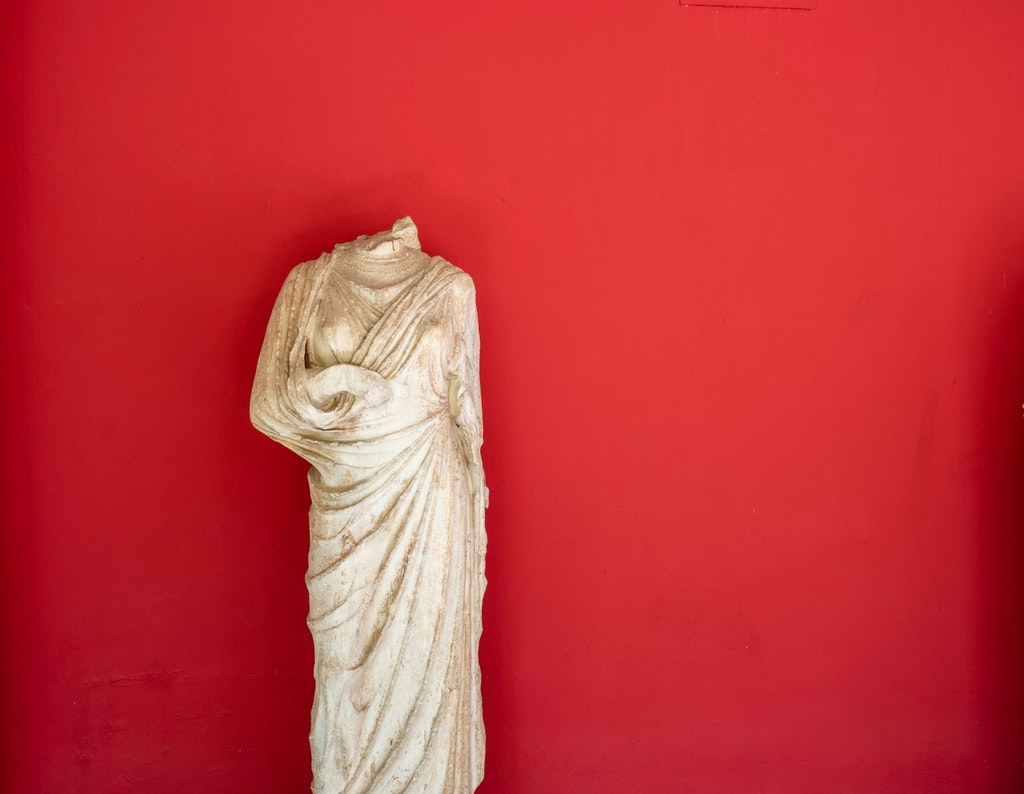 A sculpture from the National Archaeological museum.