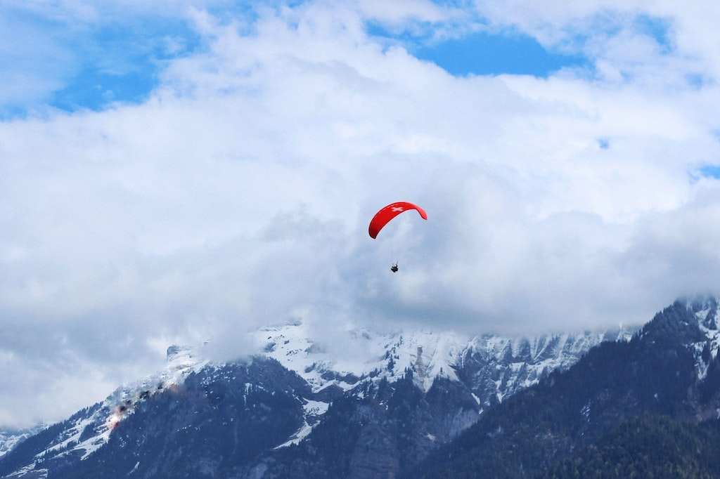 Paragliding in Interlaken, Things to Do in Switzerland in May