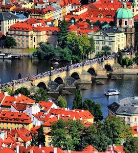 Prague beautiful view