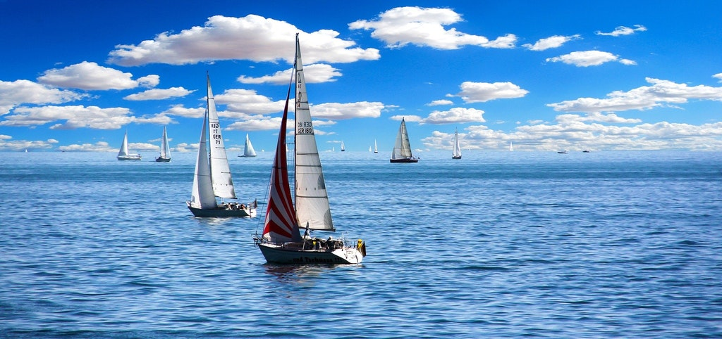 Sail in the British Virgin Islands