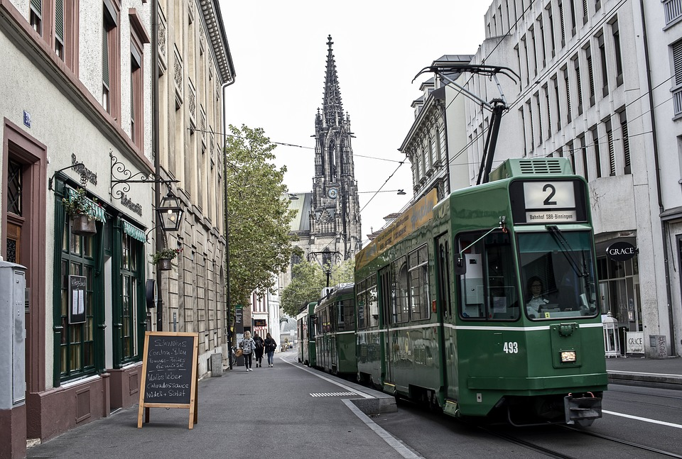 Basel Tram, Places to Visit in Basel Switzerland