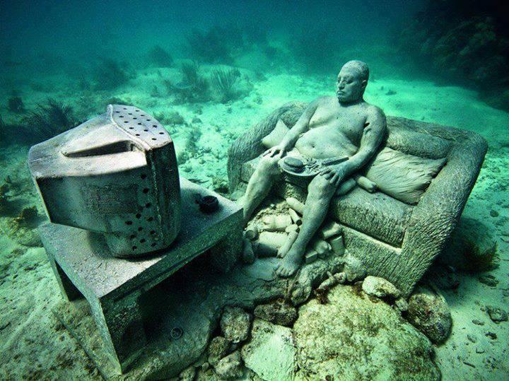 Caribbean Adventure underwater museum in Mexico