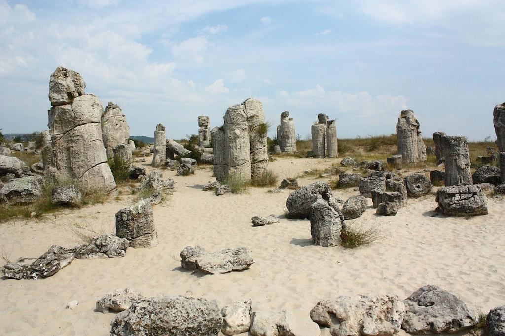 Stone Forest in Varna