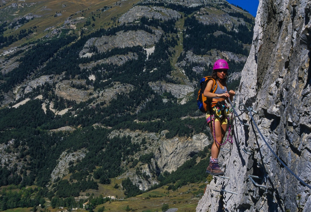 Via Ferrata Climbing , Things to Do in Engelberg Switzerland