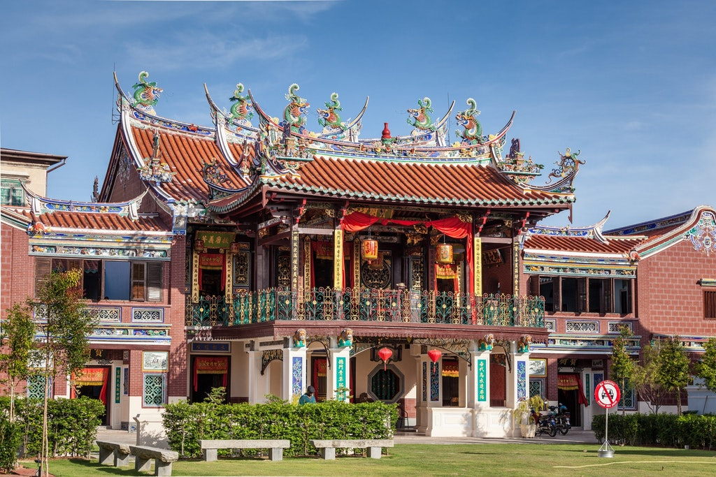 A temple in Penang, Malaysia