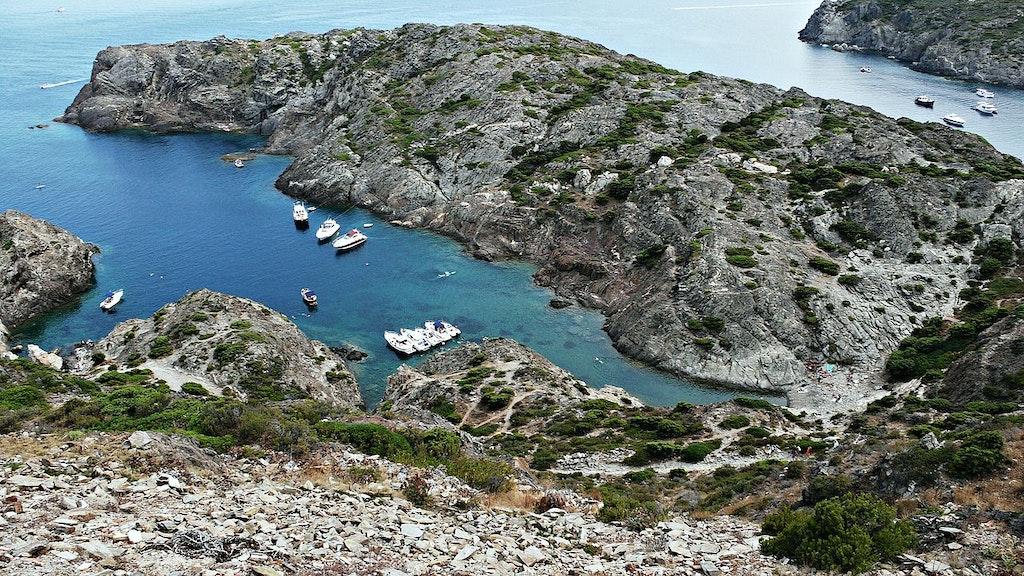 Coves of Cap de Salou