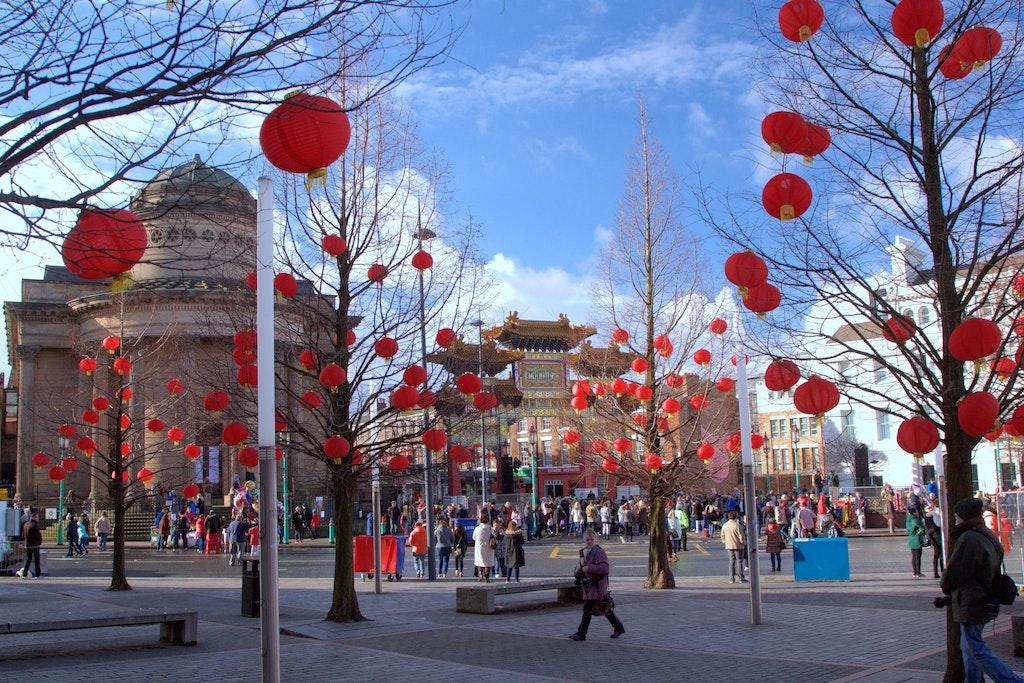 Scenes in Chinatown, Liverpool