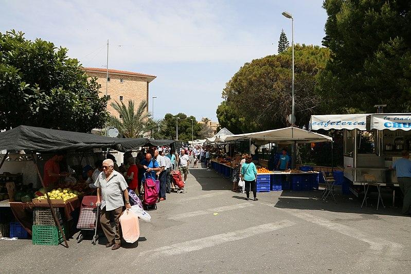 San Pedro de Alcántara Market in Marbella