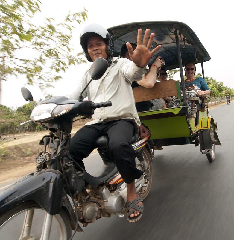 Tuk tuk in Vietnam