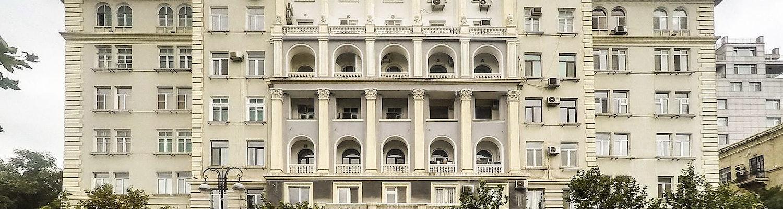 Beautiful Architecture in Baku
