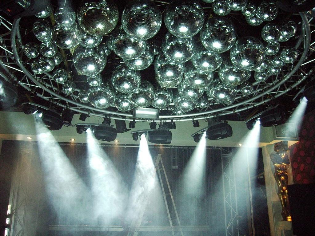 Dancing people at Nightclub