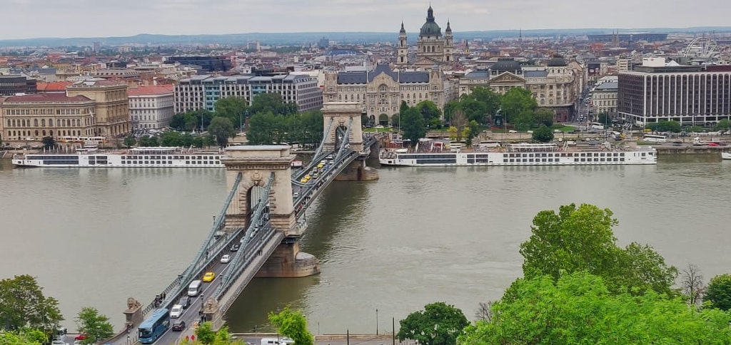 A view of a bridge in Europe