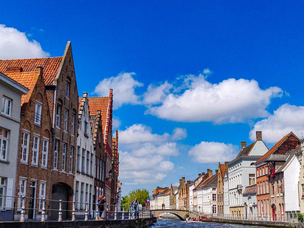 A picture that was taken at Bruges in Belgium