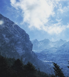 Mountains in Sikkim