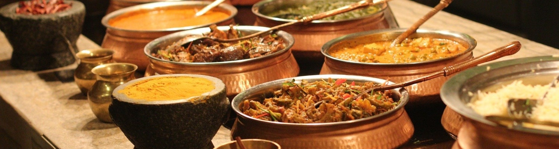 Indian Buffet spread