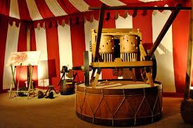 Da Vinci drum at the museum