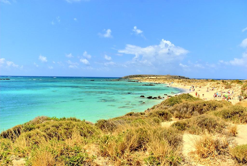 Elafonisi Beach of Crete
