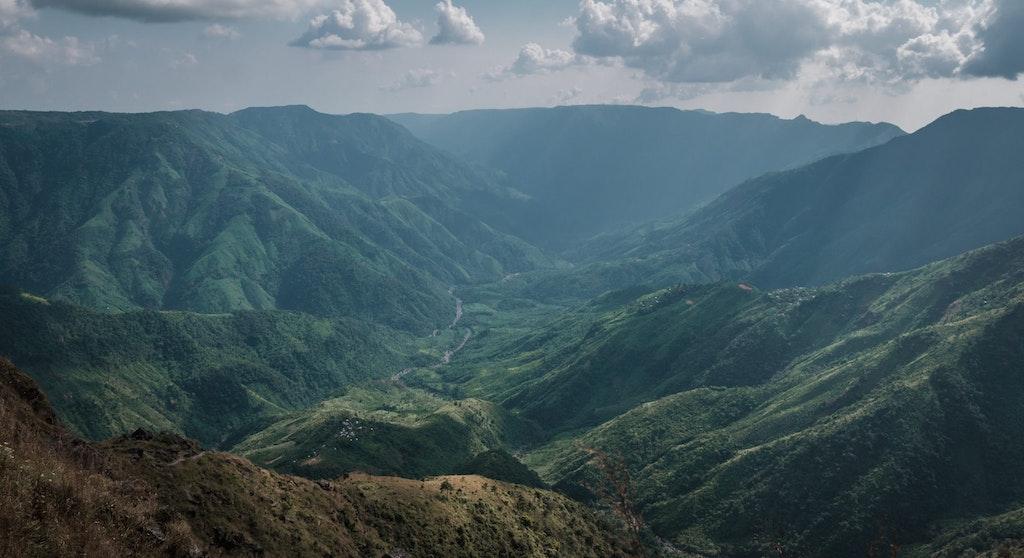Laitlum Grand Canyon in Shillong, Meghalaya